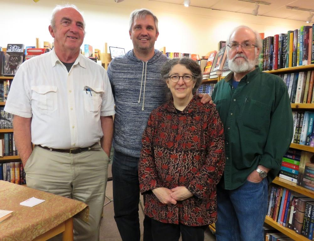 Fun, Friends and Family at the Snow Goose Booksigning and the 200th book purchase winner