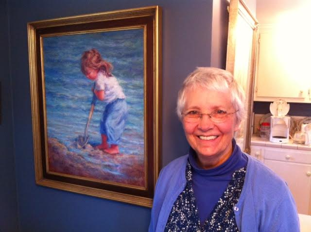 Celebrating Ann Cory Dorsey's Beautiful Art and Honoring my mom as a cancer survivor