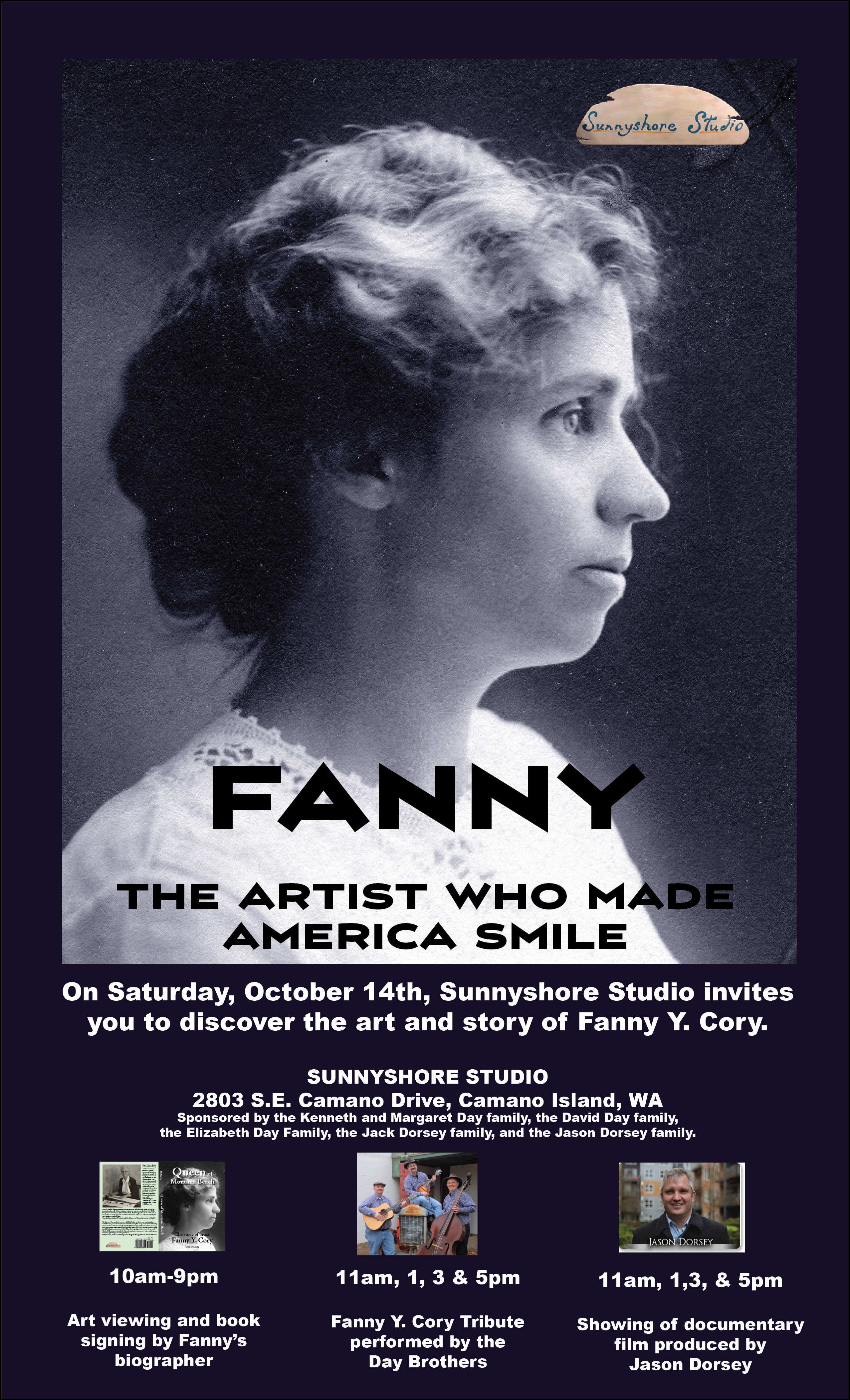 FANNY, the artist who made America smile showings