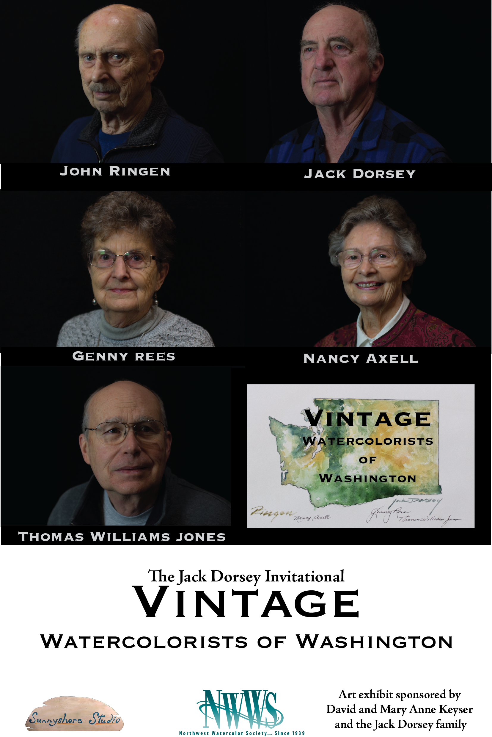 Sunnyshore Studio releases videos to celebrate and preserve the stories of five Vintage Watercolorists of Washington