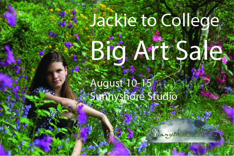 Big Art Sale to send Jackie to College