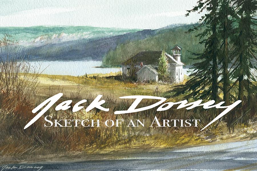 Book $19.95 – Sketch Of An Artist: Jack Dorsey