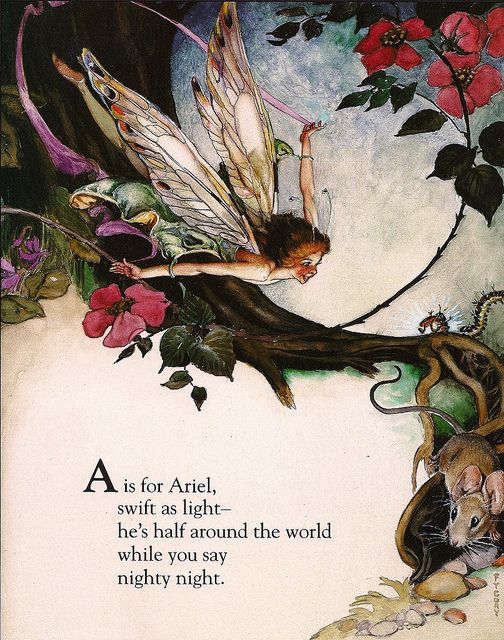 Fairy Alphabet – A is for Ariel