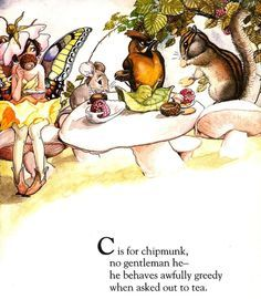 Fairy Alphabet – C is for Chipmunk