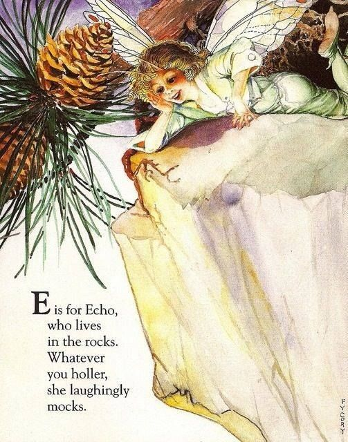 Fairy Alphabet – E is for Echo