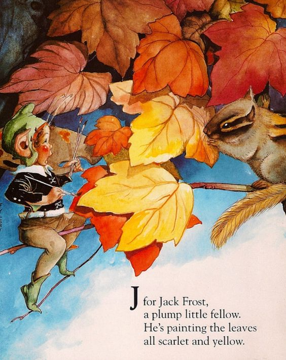 Fairy Alphabet – J is for Jack Frost