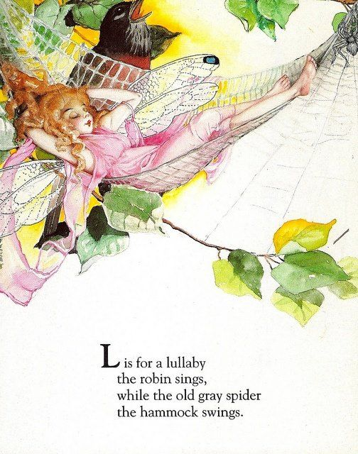 Fairy Alphabet – L is for Lullaby