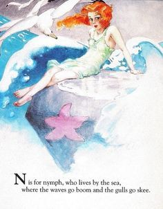 Fairy Alphabet – N is for Nymph
