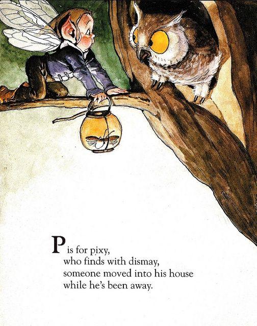 Fairy Alphabet – P is for Pixy