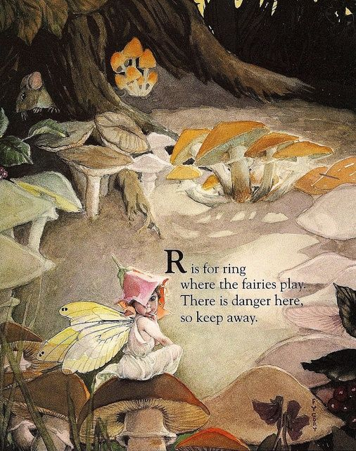 Fairy Alphabet – R is for ring