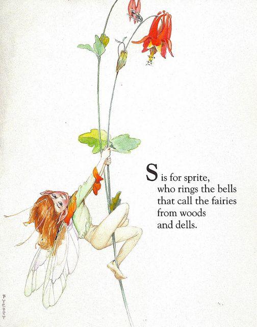 Fairy Alphabet – S is for Sprite