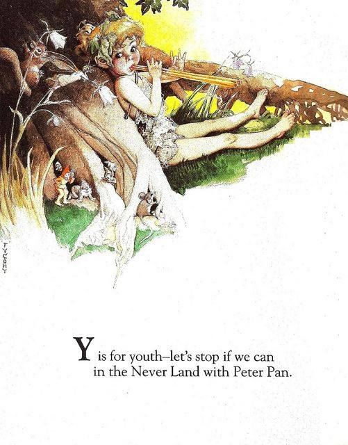 Fairy Alphabet – Y is for youth
