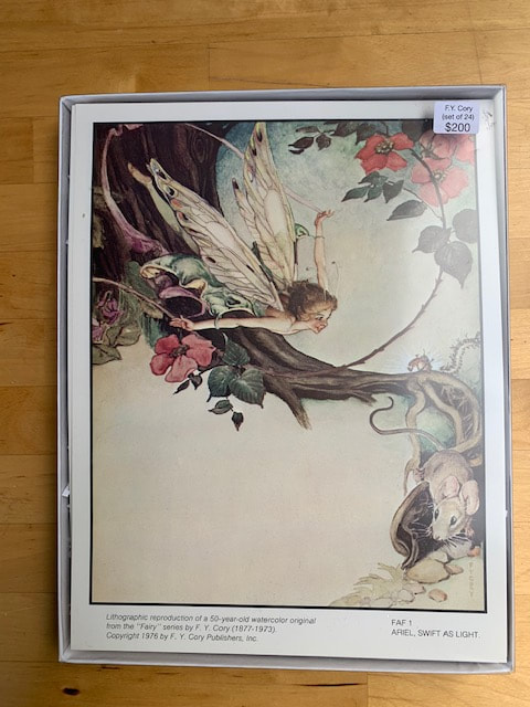Fairy Lithograph Box Set of 24