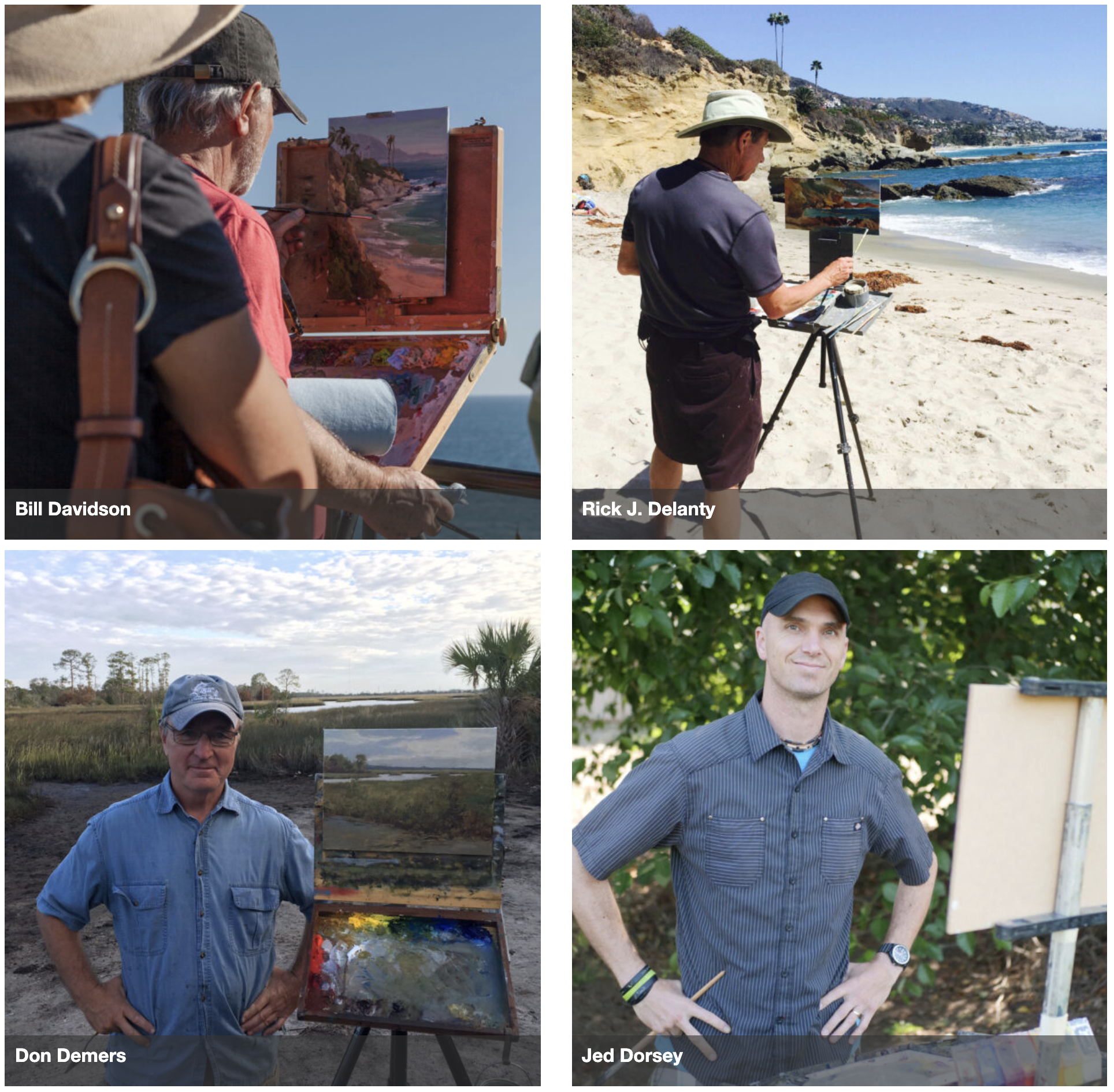 "Jed Dorsey, whose show ""Hope Unlimited"" opens October 24, is one of 25 of the nation's top award winning plein air artist featured in the 2020 Laguna Beach Plein Air Painting Invitational"
