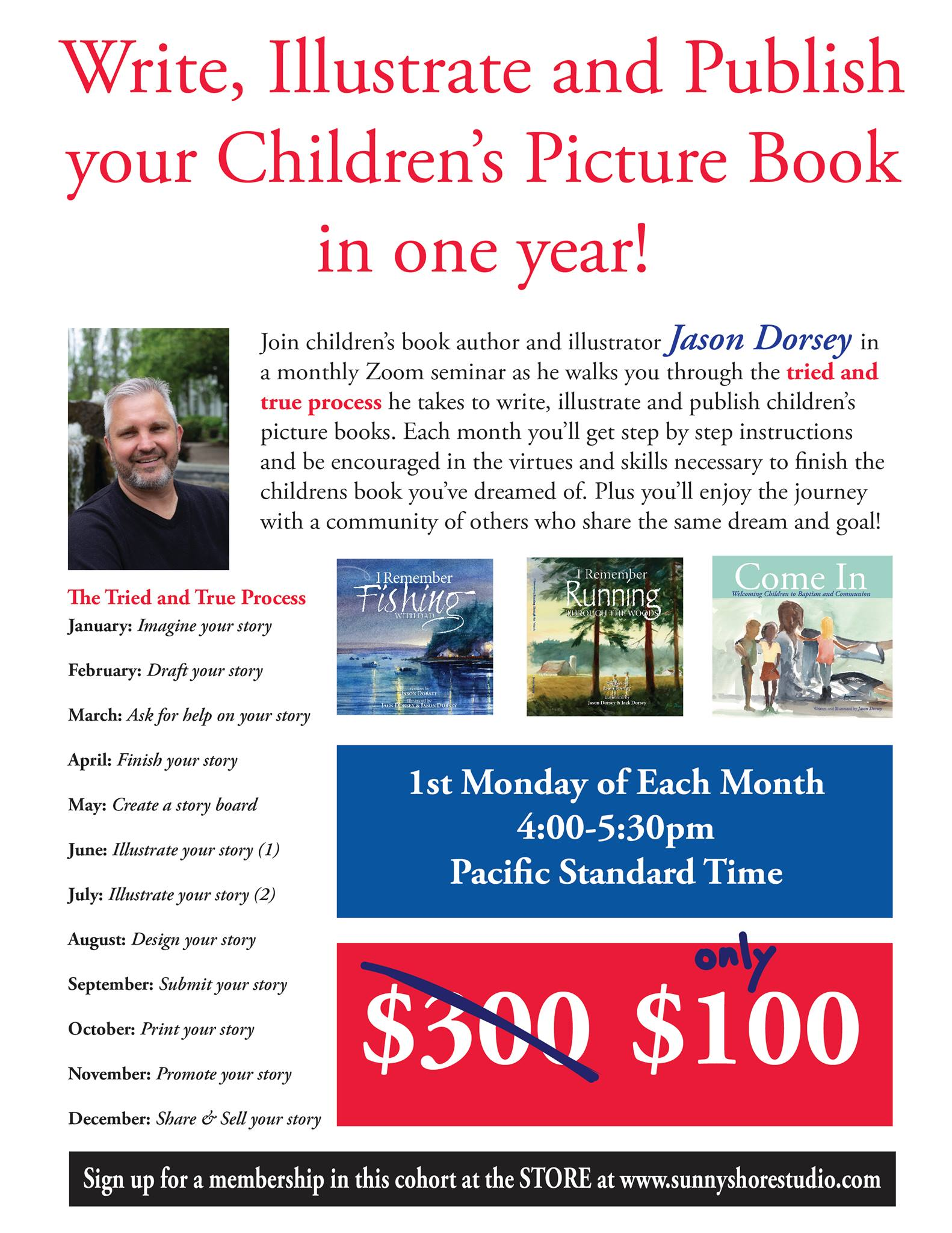 Create Your Children's Book in a Year