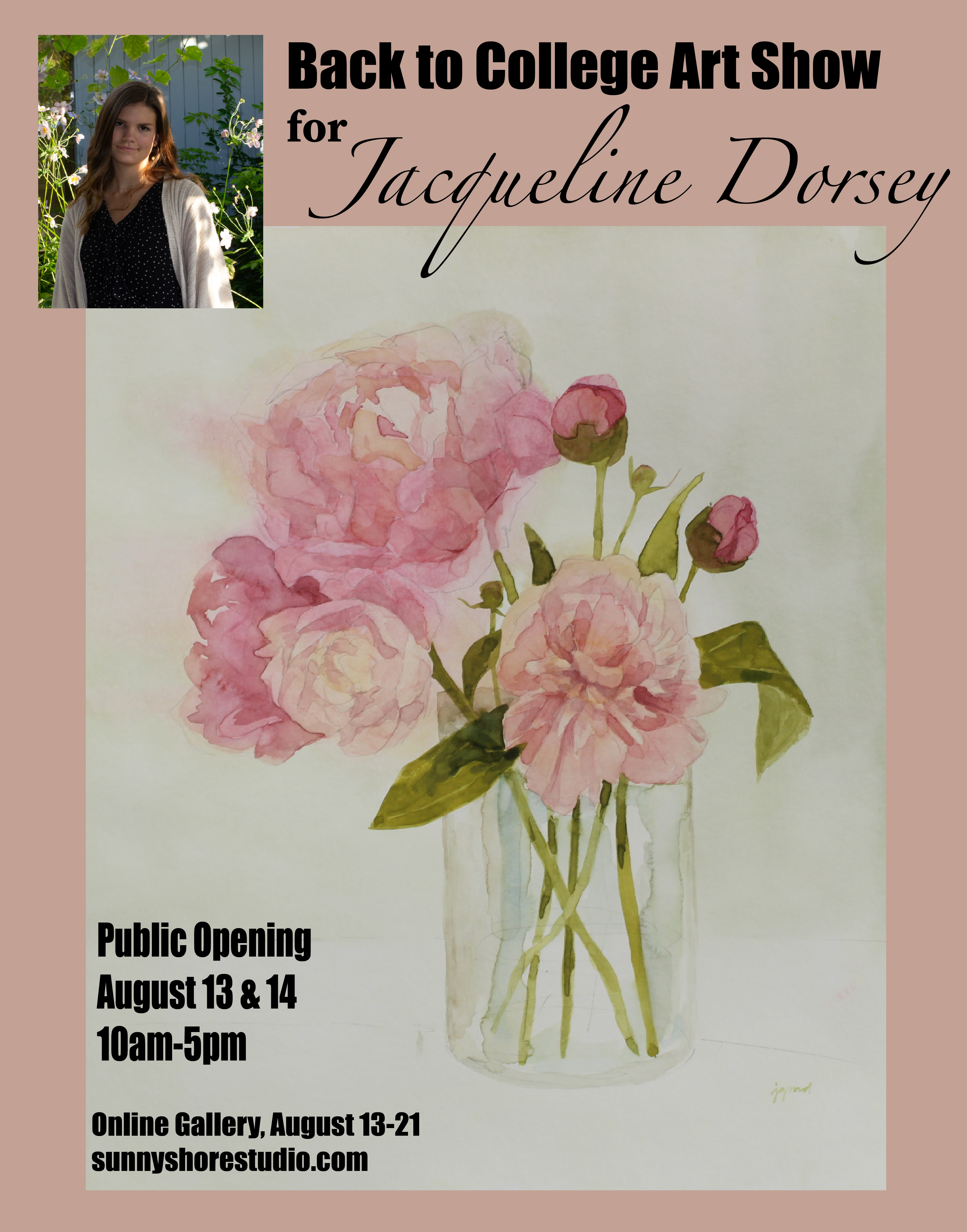 Announcing Jacqueline Dorsey's Solo Art Show: Back to College
