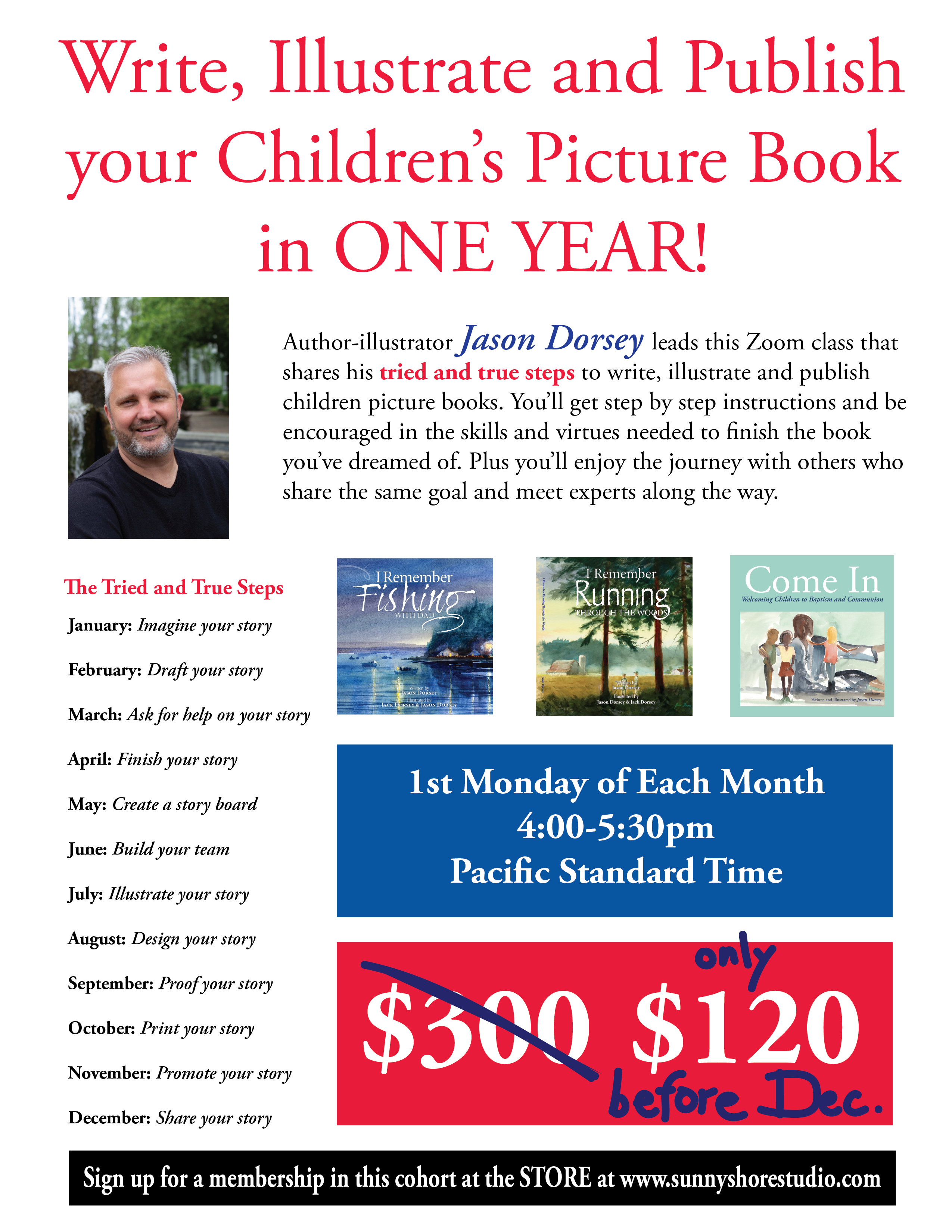 Create Your Children's Book in a Year – Zoom Class FAQs
